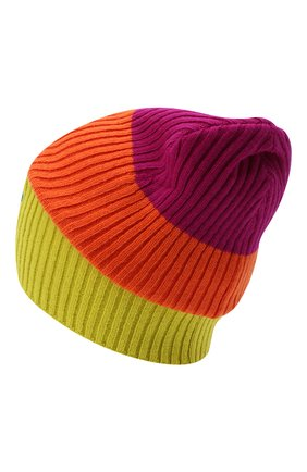 Женский шерстяная шапка GUCCI разноцветного цвета, арт. 628094/3GF52 | Фото 2
