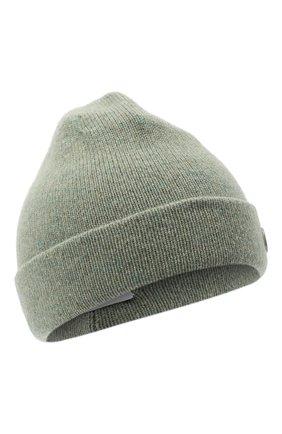Женская кашемировая шапка MAISON MICHEL светло-зеленого цвета, арт. 2357005001/YVAN | Фото 1