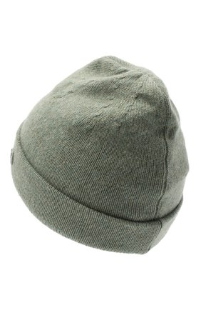 Женская кашемировая шапка MAISON MICHEL светло-зеленого цвета, арт. 2357005001/YVAN | Фото 2