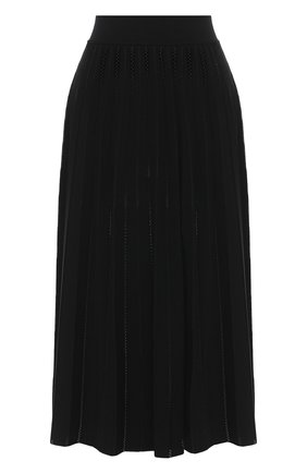Женская юбка из вискозы CASASOLA черного цвета, арт. SKT-C-0T0NELLA/VISC0SE | Фото 1