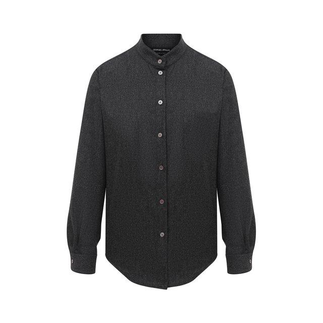 Шерстяная рубашка Giorgio Armani