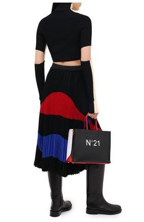 Женская юбка N21 черного цвета, арт. 20I N2P0/C061/5111 | Фото 2