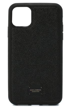 Чехол для iphone 11 pro max DOLCE & GABBANA черного цвета, арт. BP2690/AW394 | Фото 1