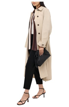 Женские брюки THEORY черного цвета, арт. K0609205 | Фото 2
