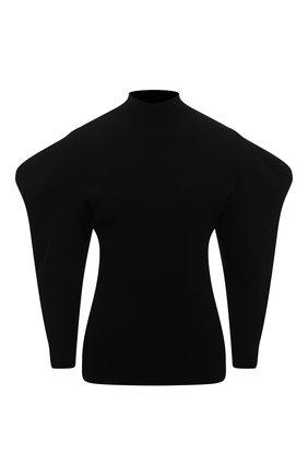 Женский пуловер из вискозы PROENZA SCHOULER черного цвета, арт. R2037461-KY192 | Фото 1
