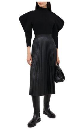 Женский пуловер из вискозы PROENZA SCHOULER черного цвета, арт. R2037461-KY192 | Фото 2