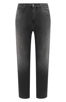 Женские джинсы JACOB COHEN серого цвета, арт. KIMMY 01292-W2/54 | Фото 1