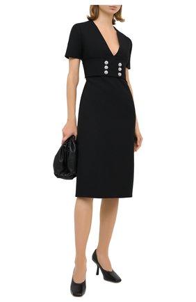 Женское платье GUCCI черного цвета, арт. 626857/ZAD88   Фото 2