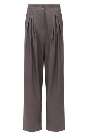 Женские брюки PEFORGIRLS темно-серого цвета, арт. PE.100.2022.09.30101.091 | Фото 1