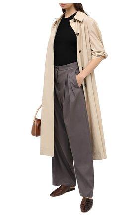 Женские брюки PEFORGIRLS темно-серого цвета, арт. PE.100.2022.09.30101.091 | Фото 2