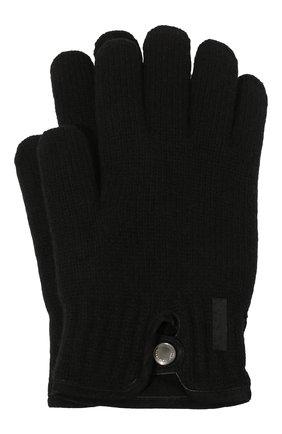 Мужские перчатки PAUL&SHARK черного цвета, арт. I20P7200/H1U | Фото 1