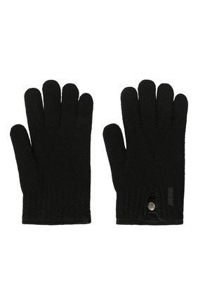 Мужские перчатки PAUL&SHARK черного цвета, арт. I20P7200/H1U | Фото 2