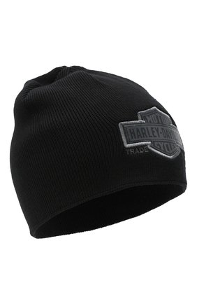 Мужская шапка general motorclothes HARLEY-DAVIDSON черного цвета, арт. 99511-11VM   Фото 1