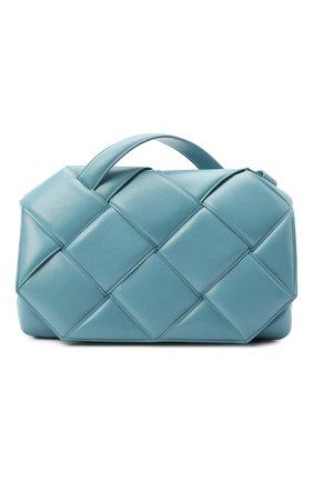 Женская сумка bv handle BOTTEGA VENETA голубого цвета, арт. 632647/VCQR1 | Фото 1
