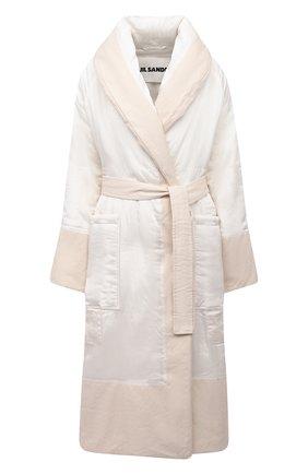 Женское пальто JIL SANDER белого цвета, арт. JSPR430211-WR392200A | Фото 1