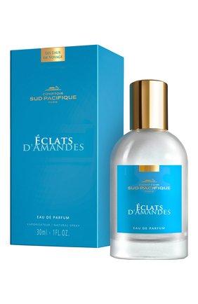 Женский парфюмерная вода éclats d'amandes COMPTOIR SUD PACIFIQUE бесцветного цвета, арт. 19403060 | Фото 2