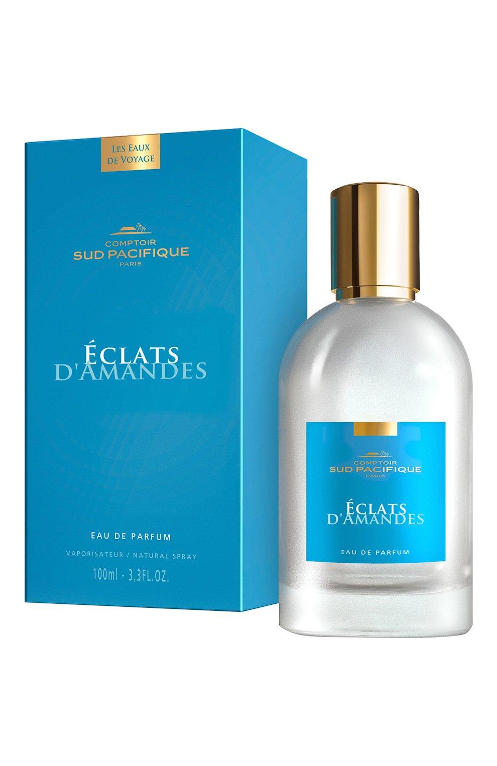 Женский парфюмерная вода éclats d'amandes COMPTOIR SUD PACIFIQUE бесцветного цвета, арт. 19410060 | Фото 2