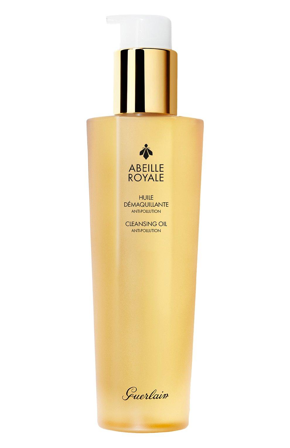 Очищающее масло для лица и области глаз abeille royale (150ml) GUERLAIN бесцветного цвета, арт. G061454 | Фото 1