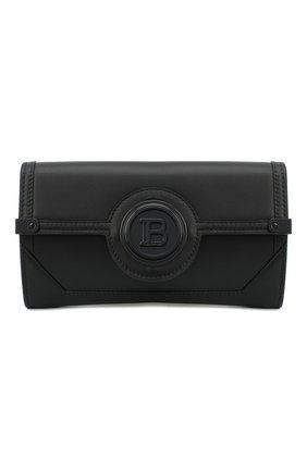 Женская поясная сумка BALMAIN черного цвета, арт. UN1S552/LMJR   Фото 1