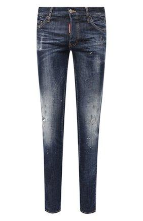 Мужские джинсы DSQUARED2 синего цвета, арт. S71LB0775/S30342 | Фото 1