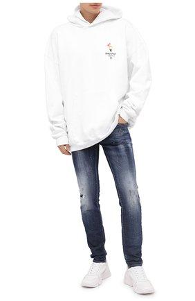 Мужские джинсы DSQUARED2 синего цвета, арт. S71LB0775/S30342 | Фото 2