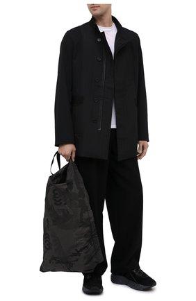 Мужская текстильная сумка Y-3 черного цвета, арт. GK2104/M | Фото 2
