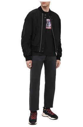 Мужские замшевые кроссовки FLOWER MOUNTAIN темно-серого цвета, арт. 0012015305.04   Фото 2