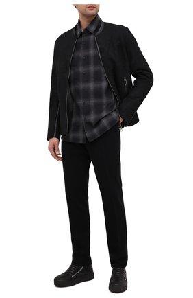 Мужские кожаные ботинки VIC MATIE черного цвета, арт. 1Y5511U.V02C7CB001 | Фото 2