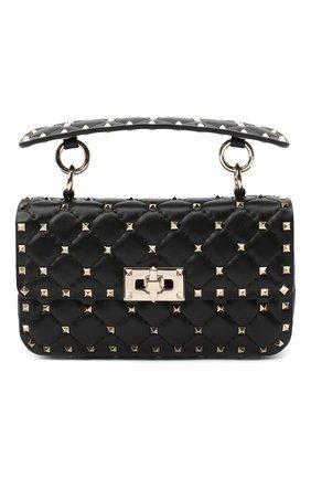 Женская сумка valentino garavani rockstud spike VALENTINO черного цвета, арт. UW0B0123/NAP | Фото 1
