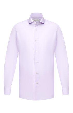 Мужская хлопковая сорочка LUIGI BORRELLI сиреневого цвета, арт. EV08/FELICE/TS30851 | Фото 1