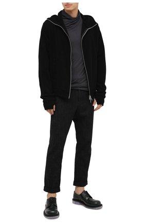 Мужская кашемировый кардиган ANDREA YA'AQOV черного цвета, арт. 21MCASH37 | Фото 2