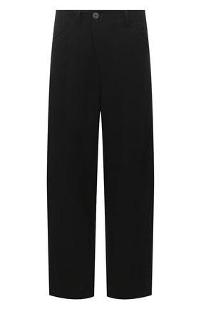 Мужской шерстяные брюки ANDREA YA'AQOV черного цвета, арт. 21MTIT57 | Фото 1
