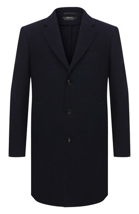 Мужской шерстяное пальто Z ZEGNA синего цвета, арт. 897762/4DSGG0 | Фото 1