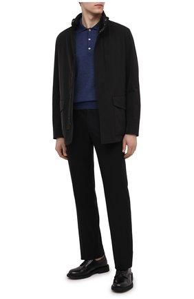Мужская куртка ERMENEGILDO ZEGNA черного цвета, арт. UVT30/V215 | Фото 2