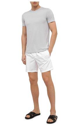 Детского плавки-шорты DOLCE & GABBANA белого цвета, арт. M4A68T/FUSFW | Фото 2