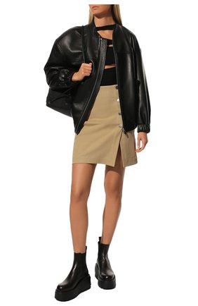 Женские кожаные челси valentino garavani VALENTINO черного цвета, арт. UW0S0AP7/RBJ | Фото 2