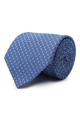 Мужской шелковый галстук ETON синего цвета, арт. A000 32540 | Фото 1