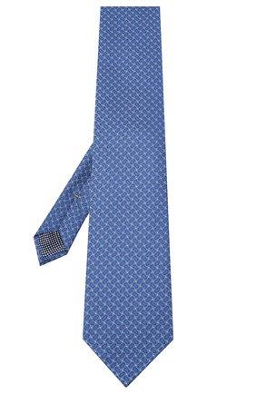 Мужской шелковый галстук ETON синего цвета, арт. A000 32540 | Фото 2