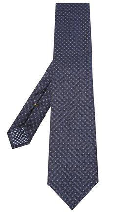 Мужской шелковый галстук ETON темно-синего цвета, арт. A000 32540 | Фото 2