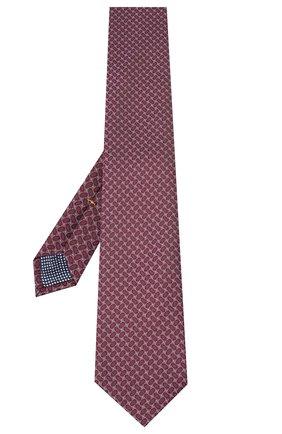 Мужской шелковый галстук ETON бордового цвета, арт. A000 32540 | Фото 2