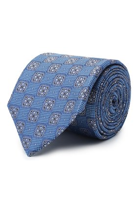Мужской шелковый галстук ETON синего цвета, арт. A000 32542 | Фото 1
