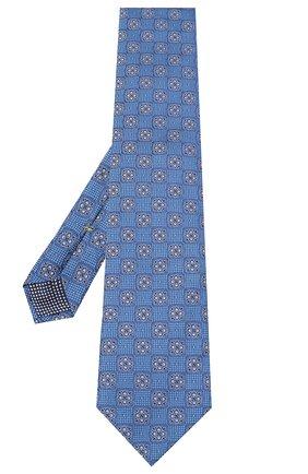 Мужской шелковый галстук ETON синего цвета, арт. A000 32542 | Фото 2