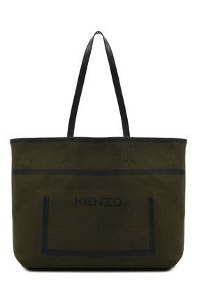 Женский сумка KENZO хаки цвета, арт. FA62SA409F04 | Фото 1