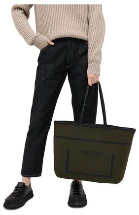 Женский сумка KENZO хаки цвета, арт. FA62SA409F04 | Фото 2