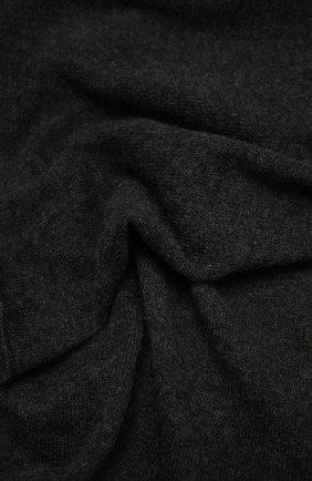 Мужской кашемировый шарф FEDELI темно-серого цвета, арт. 3UI07400 | Фото 2