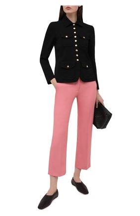 Женские брюки STELLA MCCARTNEY розового цвета, арт. 529866/S0A36 | Фото 2