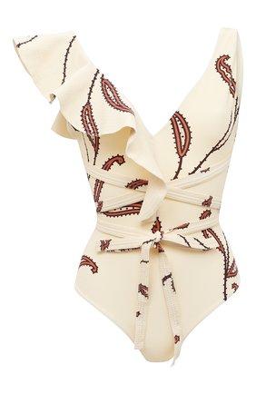 Женский слитный купальник JOHANNA ORTIZ белого цвета, арт. R472LE | Фото 1