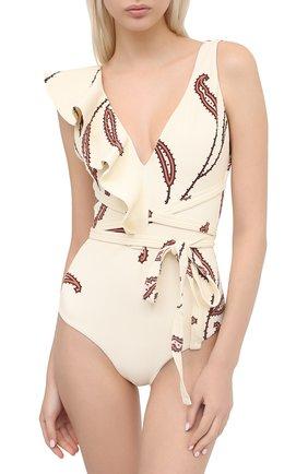 Женский слитный купальник JOHANNA ORTIZ белого цвета, арт. R472LE | Фото 2