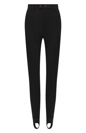 Женские брюки со штрипками DSQUARED2 черного цвета, арт. S72KA1039/S53311 | Фото 1