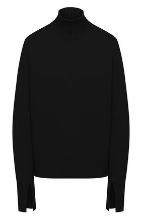 Женский свитер из шерсти и кашемира MRZ черного цвета, арт. FW20-0050 | Фото 1